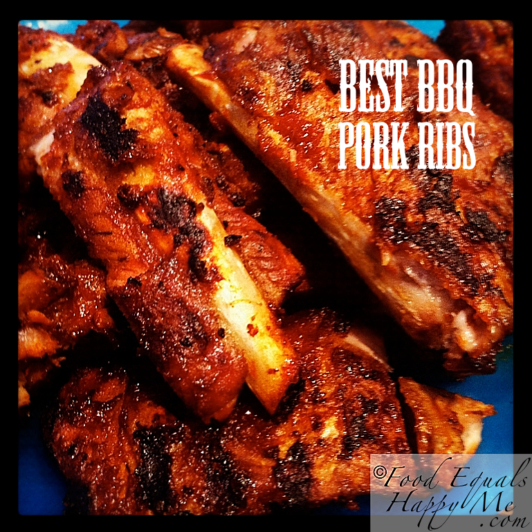 The Best BBQ Pork Ribs…EVER | Food Equals Happy Me