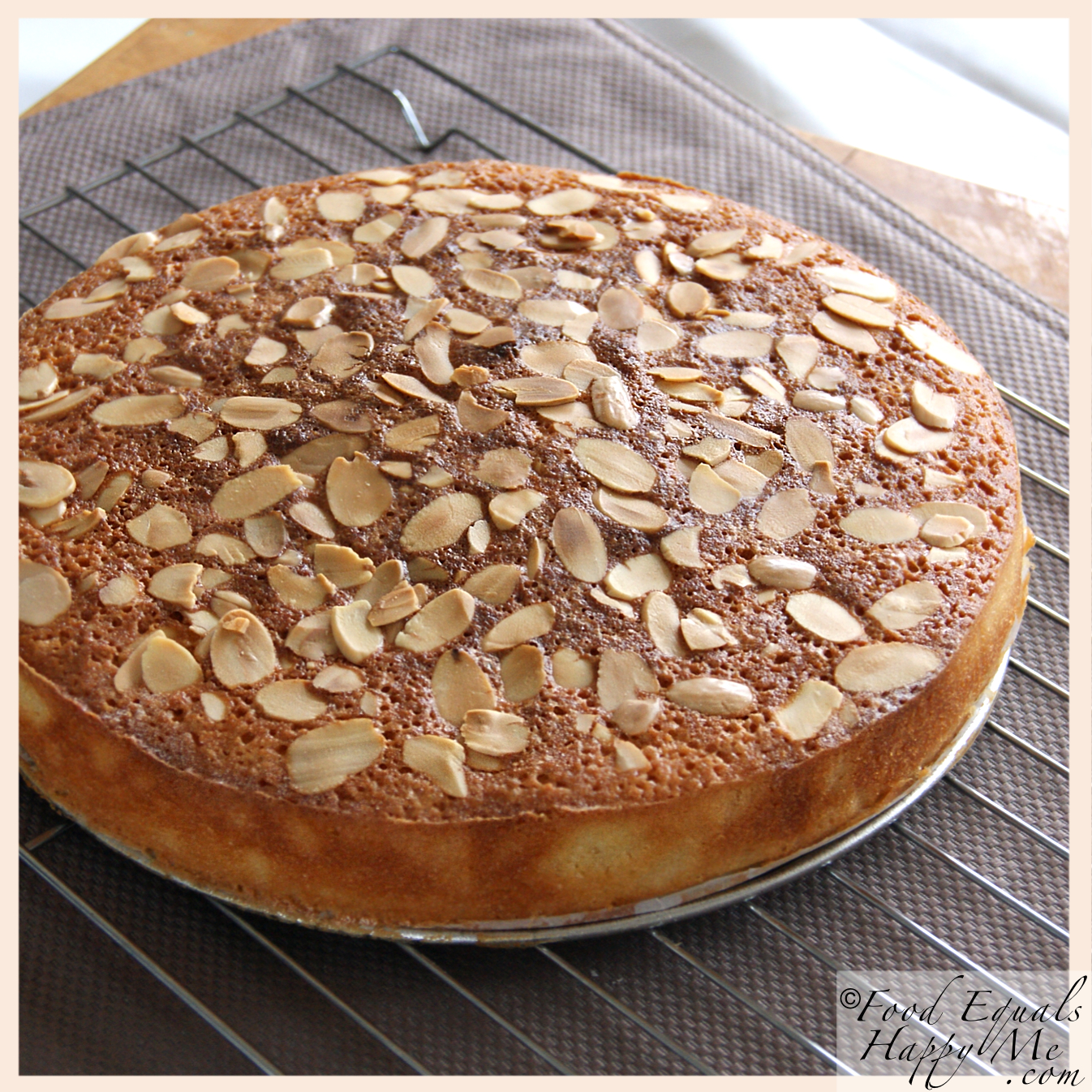 Almond and coconut cake recipe