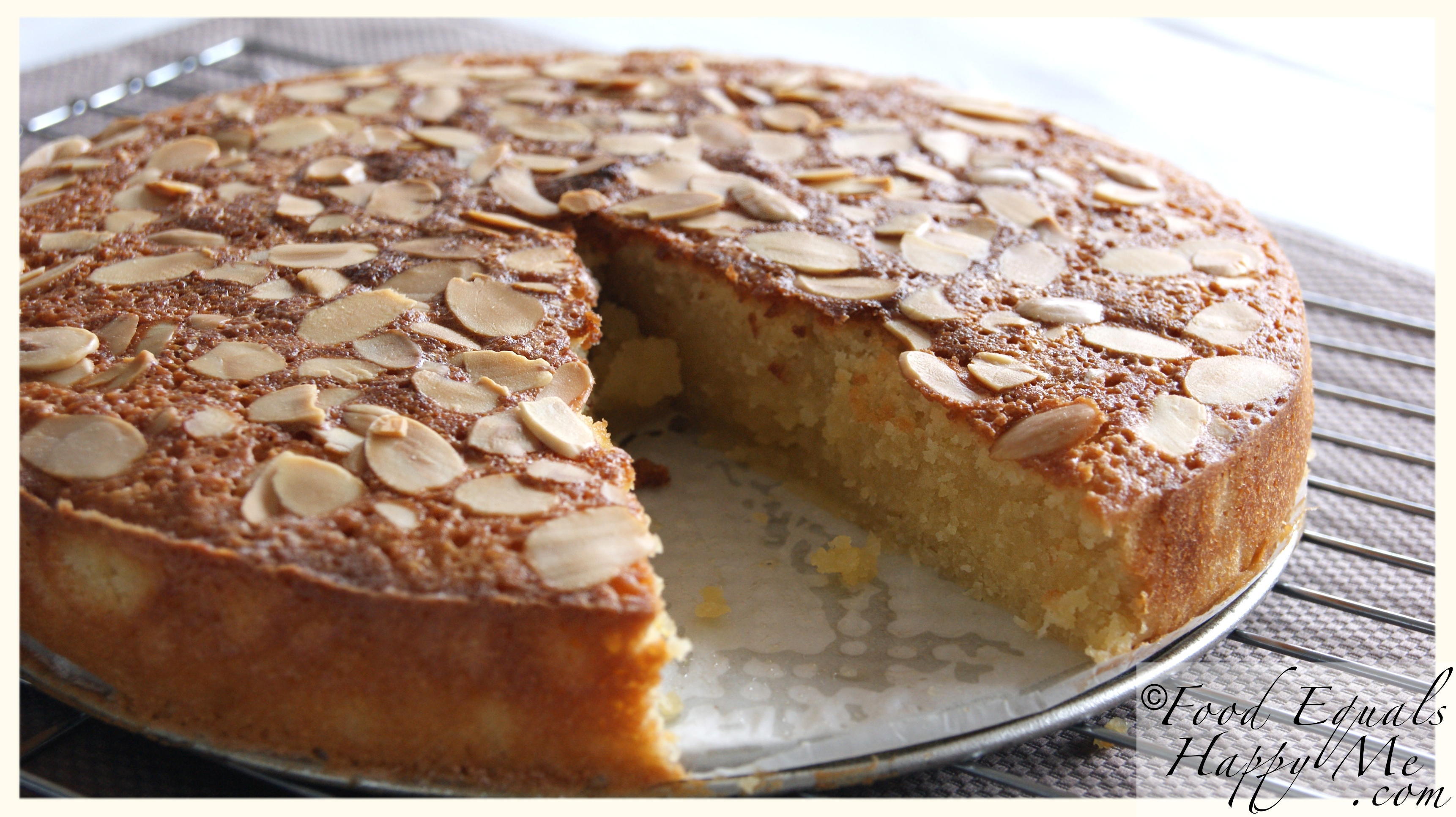Almond and Coconut Cake | Food Equals Happy Me