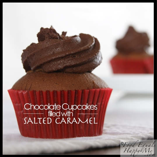 chocolate cupcakes salted caramel