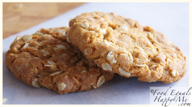 Anzac Biscuits | Food Equals Happy Me