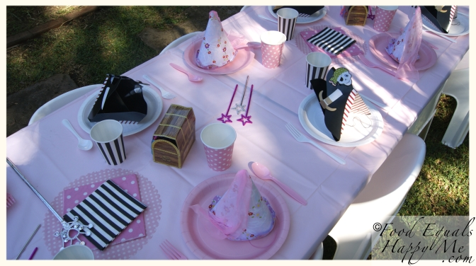 princess pirate kids party 11