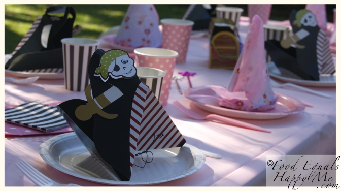 princess pirate kids party 12
