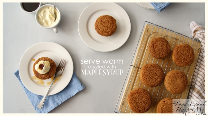 maple syrup cakes