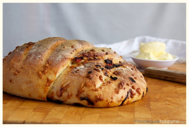 cheese onion capsicum bread