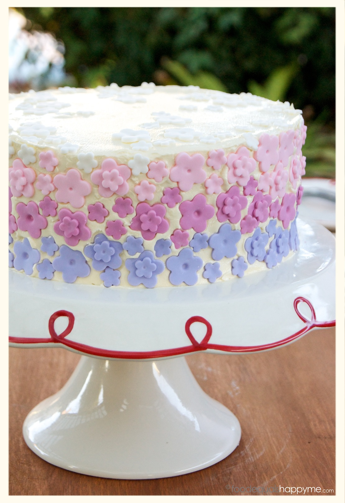 A Gatsby Cake, A Flower Cake, fun with fondant & the best ...