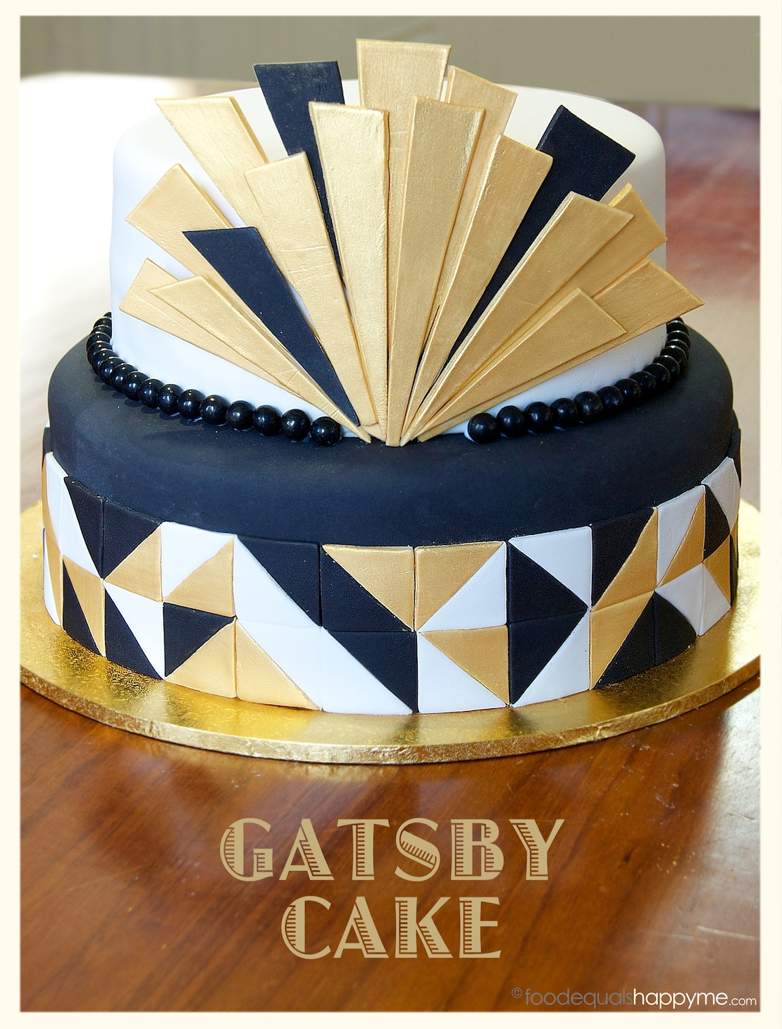 great gatsby cake a gatsby cake a flower cake with fondant amp the best 4600