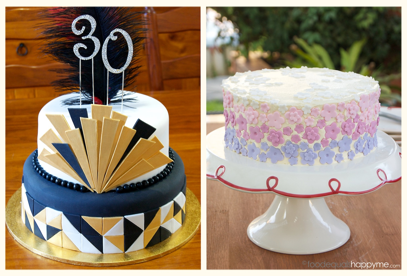 A Gatsby Cake A Flower Cake Fun With Fondant The Best Buttercake