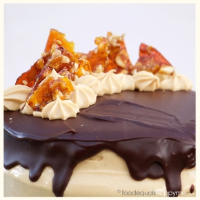 Banana Caramel Layer Cake