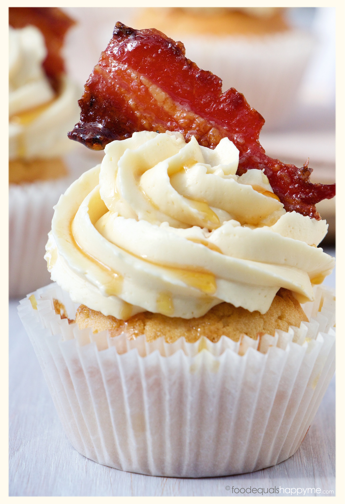 Maple Bacon Cupcakes With Cake Mix