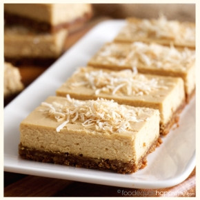 Anzac Cheesecake Slice