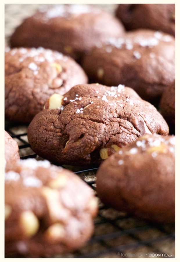 Boozy Chocolate Hazelnut Cookies